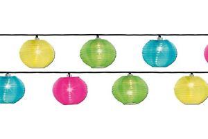 20 Del Lampion Guirlande électrique Lampions Colorés Chine Lanterne Fête Jardin D'électricité-afficher Le Titre D'origine Bmxsacql-10044628-733658200