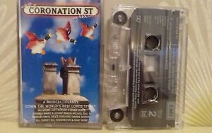 V/A THE CORONATION ST ALBUM cassette tape album