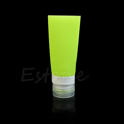Travel Silicone Packing Bottle Lotion Bath Shampoo Tube Container 38ML/60ML/80ML