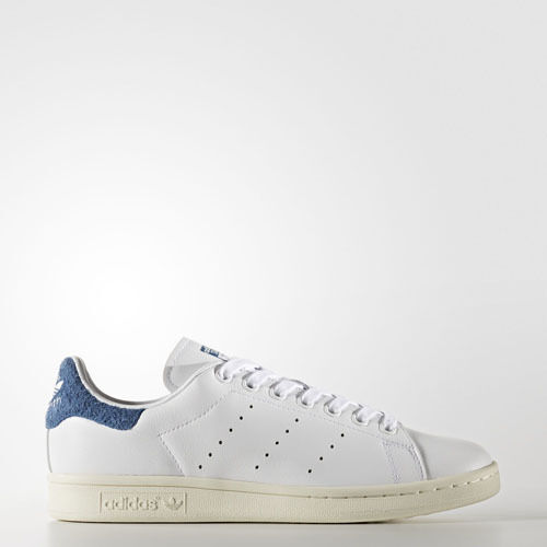 big sale 6ce41 00672 Women Adidas S82259 Stan Smith Running shoes white bluee ...