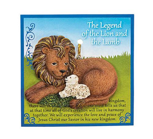 Legend of the Lion and Lamb Sheep Ornament FE-OTC Christmas Decor