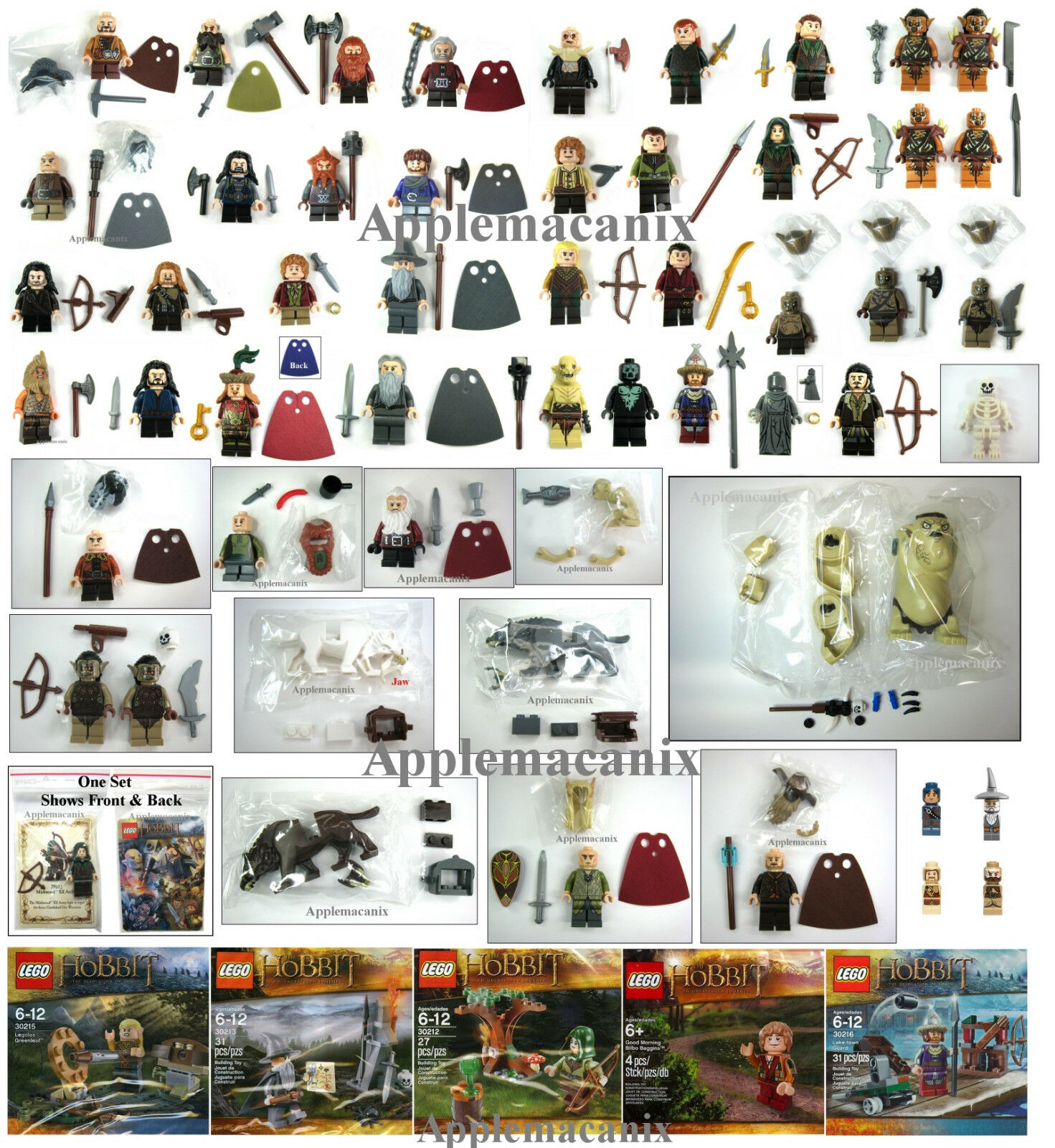 Nuevo Lego El Hobbit  Ultimate Collection  51 +1 +3 Huargos Minifiguras Figuras Lotr