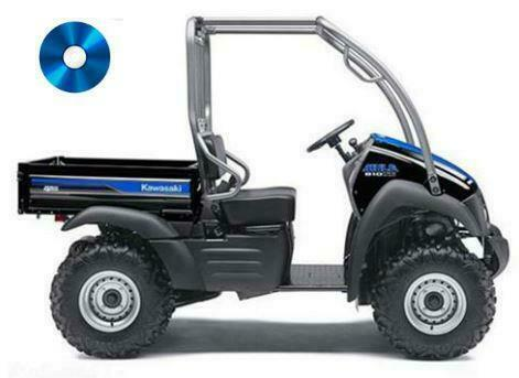 KAWASAKI Mule 610 4x4 Kaf 400 Digital Manual de taller