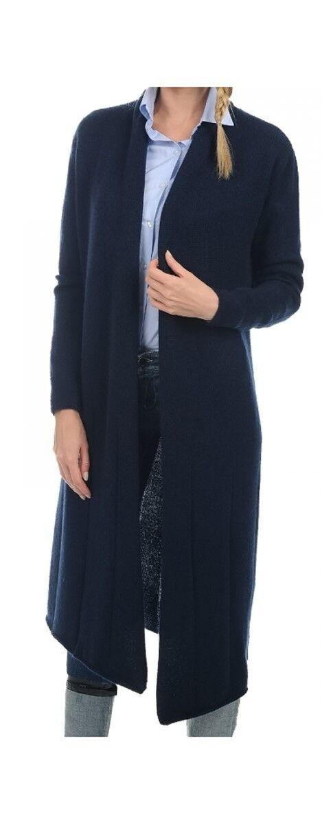 Balldiri 100% Cashmere  Damen Mantel 8 4-fädig nachtblau M