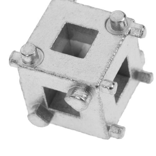 "1Pc Rear disc brake caliper piston rewind//wind back cube tool 3//8/"" drive too  zh"