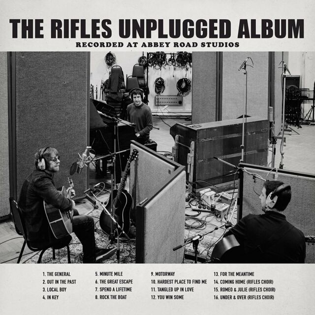 The Rifles - The Rifles Unplugged Album: Recorded At Abbey Road Studios (NEW CD)