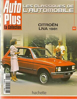 Les Classiques De L'automobile 61 Citroen Ln & Lna Citroen Visa Peugeot 104 Het Voeden Van Bloed En Het Aanpassen Van De Geest