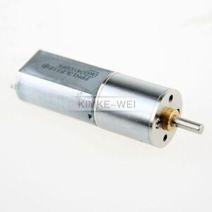 16mm 6V 300RPM Torque Gear Box Motor New