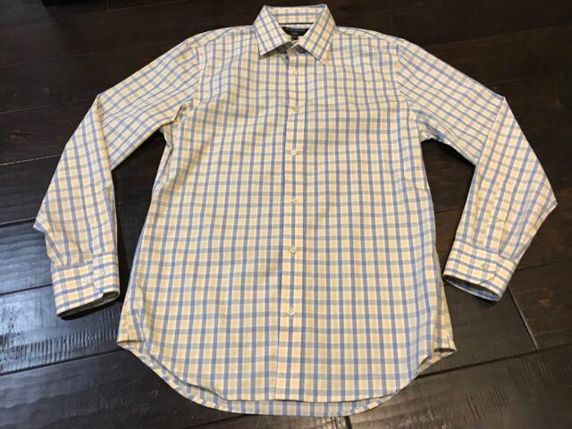 Banana Republic Non-Iron Tailored Fit Button Up Shirt - Size Medium