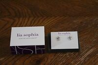 Lia Sophia Divine Dazzle Retired Earrings