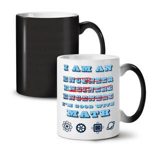Engineer Good Math NEW Colour Changing Tea Coffee Mug 11 oz | Wellcoda