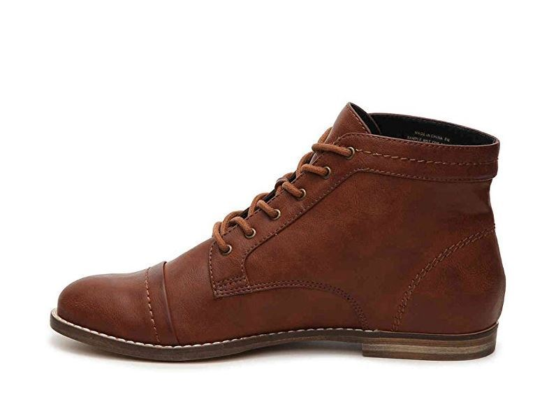 Indigo Rd. Womens Harts Leather Cap Toe Oxfords, Brown, Size 8.5