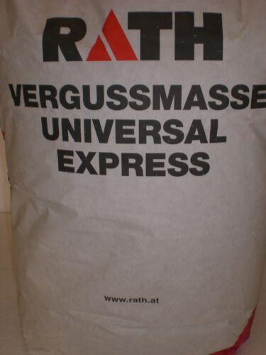 1,76€//Kg Universal Express Vergussmasse 25 kg Feuerbeton Backofen Vorfertigen