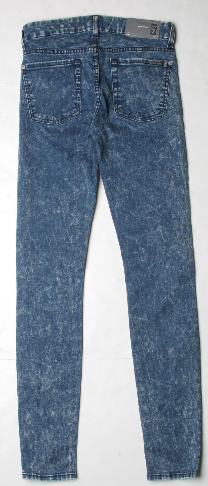 7 para Mankind Gwenevere Gwenevere Gwenevere Super Skinny Jeans All (26) Azul mineral lavado AU0168660 7f756b