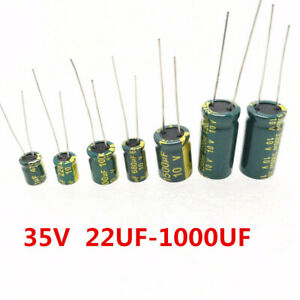 30x 6.3V High Frequency LOW ESR Radial Electrolytic Capacitor 22uF-10000uF 105C