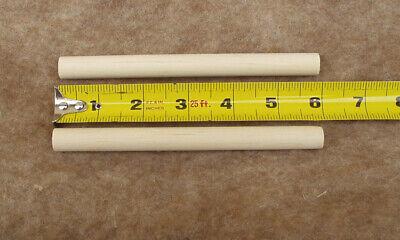 Round Birch Wood Craft Sticks Wooden Dowel Rods 5x400mm Set of 50