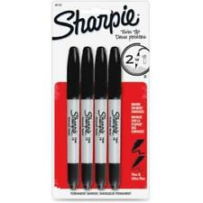 Sharpie Twin Tip Permanent Marker Fine Ultra Fine Marker Point Type Black