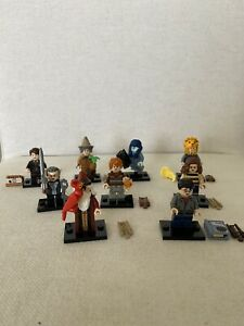 Set Of 9 LEGO Harry Potter Minifigures Series 2 71028 Brand New Open Bags