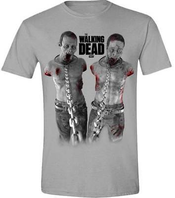 Liberale Walking Dead - Chained Walkers T-shirt Unisex Tg. Xl Import