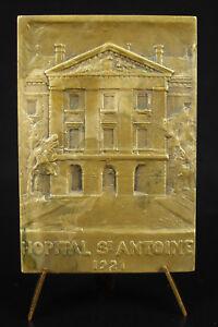 Medal-to-a-Siredey-Hospital-Saint-Antoine-Paris-1921-Medicine-Medic-Medal