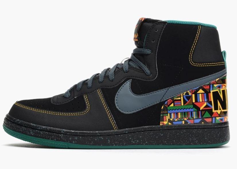Nike Terminator Hi High 307147 Gr. 42 black/magnet grey/mystic gr 307147 High 003 d84188