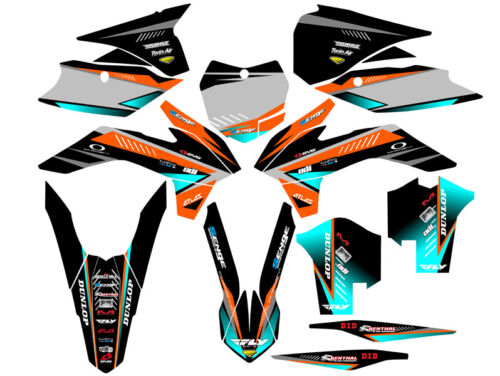 2013 2014 SX SXF 125 150 250 350 450 GRAPHICS KIT FITS KTM DECO DECALS STICKERS