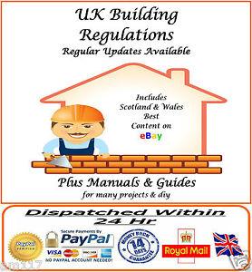 UK Building Regulations  Comprehensive Regs with Updates Link Inc Scots & Wales