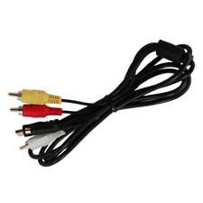 HQRP Cable Audio Video para Sony Handycam DCR-SX45, DCR-SX60, DCR-SX63, DCR-SX65
