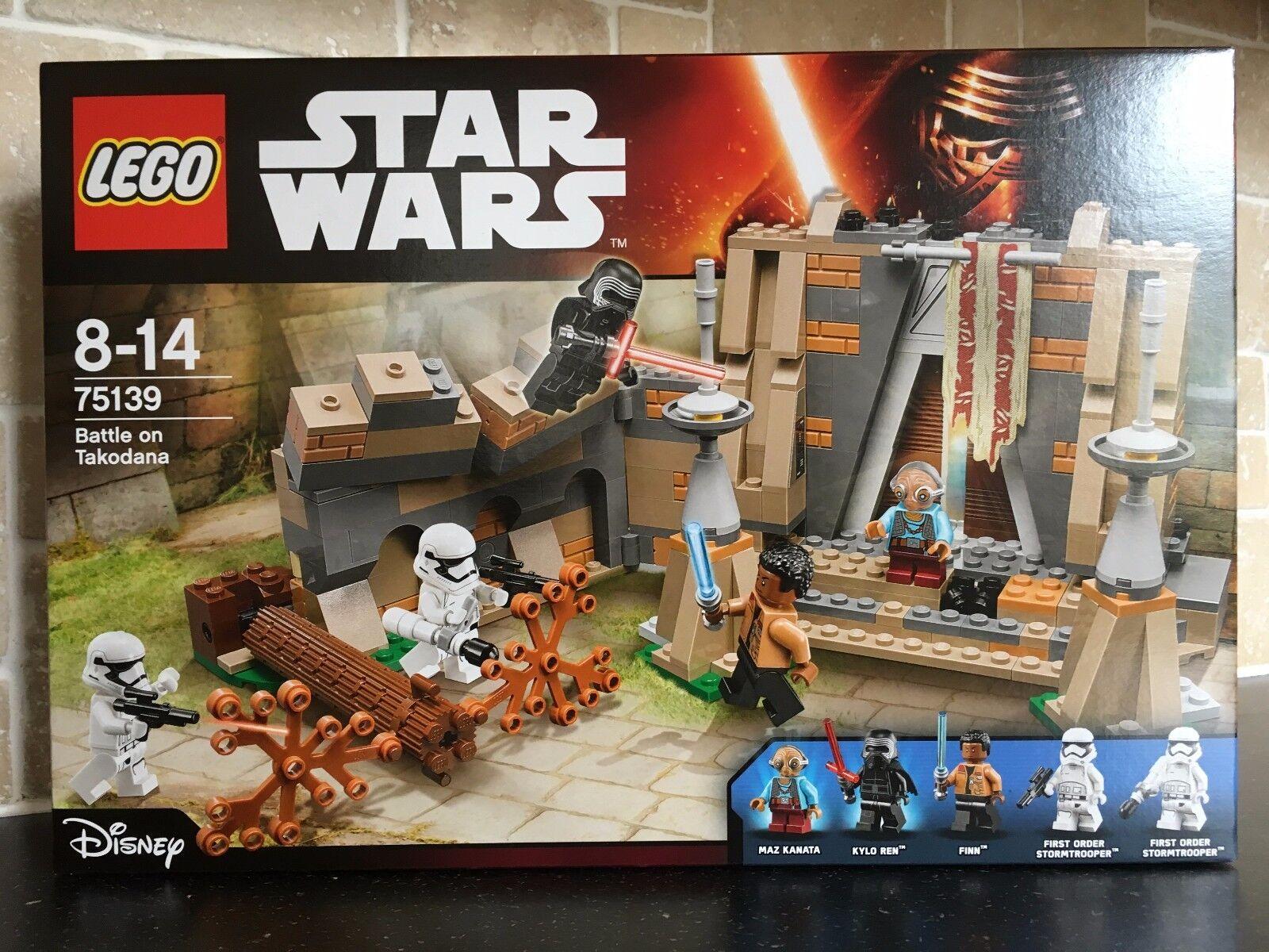 LEGO STAR WARS - 75139 Battle On Takodana Brand New In Sealed Box