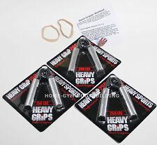 Heavy Grips Hand Gripper POPULAR COMBO HG150-200-250 + Finger Exercise Bands