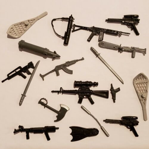 Collection Lot of 1985 G.I. JOE COBRA ARAH GUNS/WEAPONS ETC... YOU PICK