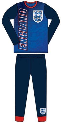 Boys Kids Official England Fc Pyjamas Pjs Football Kit Club Nightwear Sleepwear