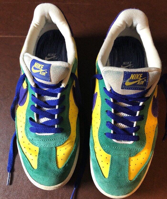 Vintage Nike Air Zoom 2018 Brasil amarillo SZ Brasil 10 308173-741 auténtico bonito Brasil SZ 946b8d