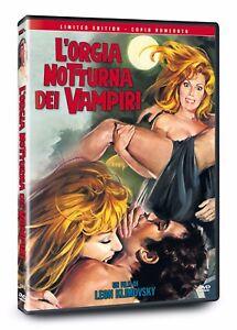 L'Orgia Notturna Dei Vampiri (Ed.Limitata E Numerata)1972 L.Klimovski DVD NUOVO - Italia - L'Orgia Notturna Dei Vampiri (Ed.Limitata E Numerata)1972 L.Klimovski DVD NUOVO - Italia