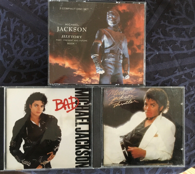 Michael Jackson: Bad, thriller,History, pop, Alle cd'er og…