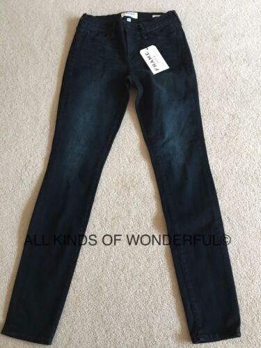 Frame le Skinny en Manor Ave RRP £ 200 Neuf avec étiquettes Noir