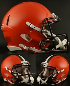 CLEVELAND-BROWNS-NFL-Riddell-SPEED-Full-Size-Replica-Football-Helmet