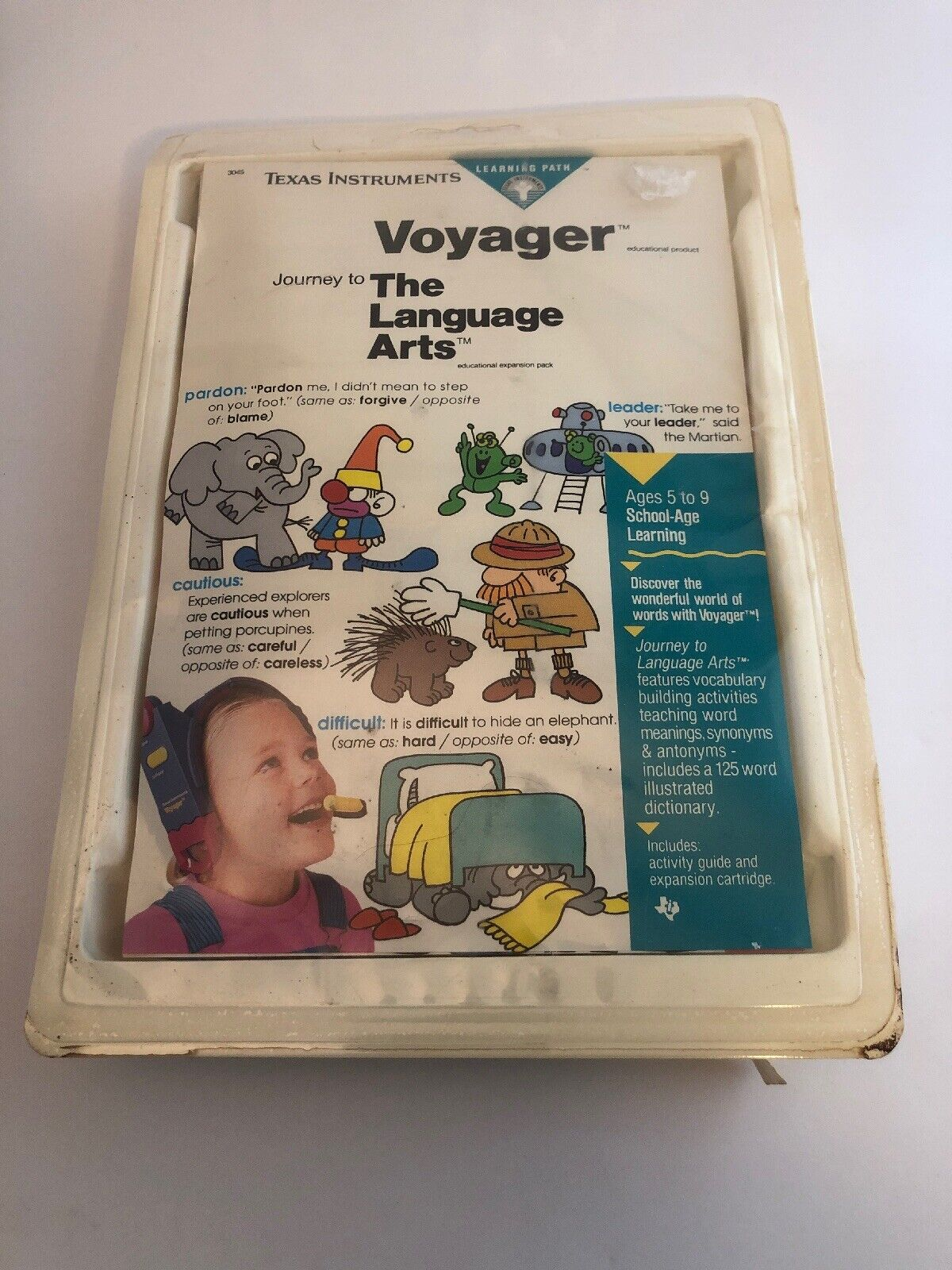 Texas InstruSiets Voyager Software TheLanguage Arts New Sealed