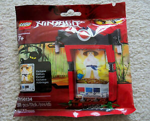 LEGO-Ninjago-Rare-Ninjago-Card-Shrine-Sensei-Wu-2856134-New-amp-Sealed