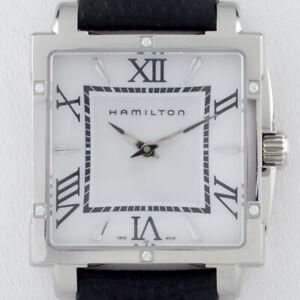 ac01d37c1db6 La imagen se está cargando Hamilton-Ss-Mujer-Jazzmaster-Reloj-de-Cuarzo- Correa-