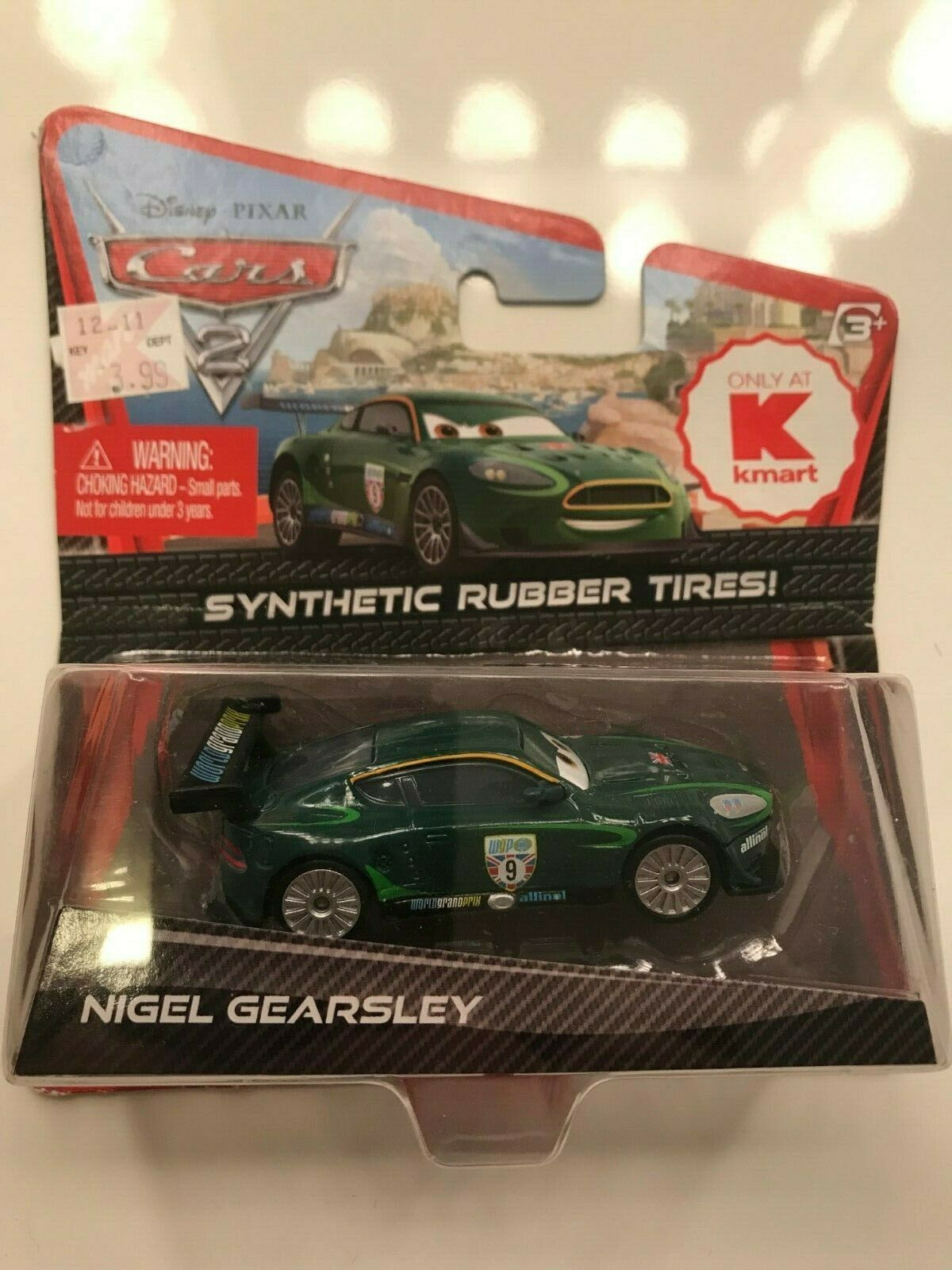 2011 DISNEY PIXAR CARS THE KING SYNTHETIC RUBBER TIRES 1//55 SCALE  KAMRT