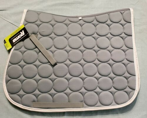 ROMA QUILTED CIRCLE A//P ALL PURPOSE SADDLE PAD