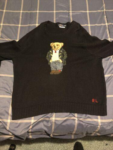 polo ralph lauren bear sweater Size 2xb