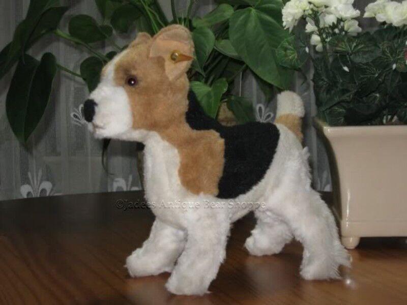 Steiff Treff Fox Terrier 88-90 078552 4140 30