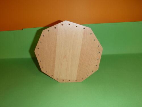 Korbboden 18cm eckig Holzdesign wasserfest  Körbe Neu