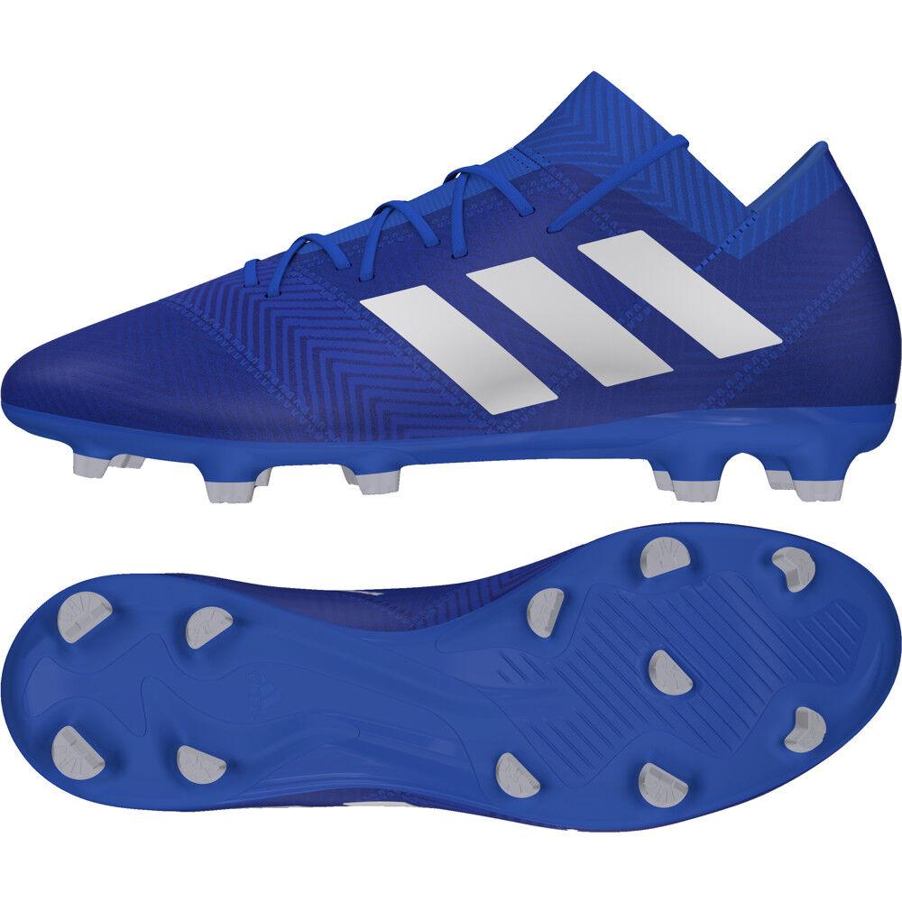 PACK MODE TEAM blau weiß DB2092 Fußballschuh Herren FG 18