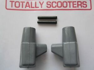 LAMBRETTA-GREY-STAND-RUBBER-FEET-amp-PINS-PAIR-TOP-QUALITY