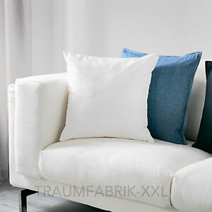 ikea ullkaktus dekokissen sofakissen kissen kissenf llung wei gef llt 50x50 cm ebay. Black Bedroom Furniture Sets. Home Design Ideas