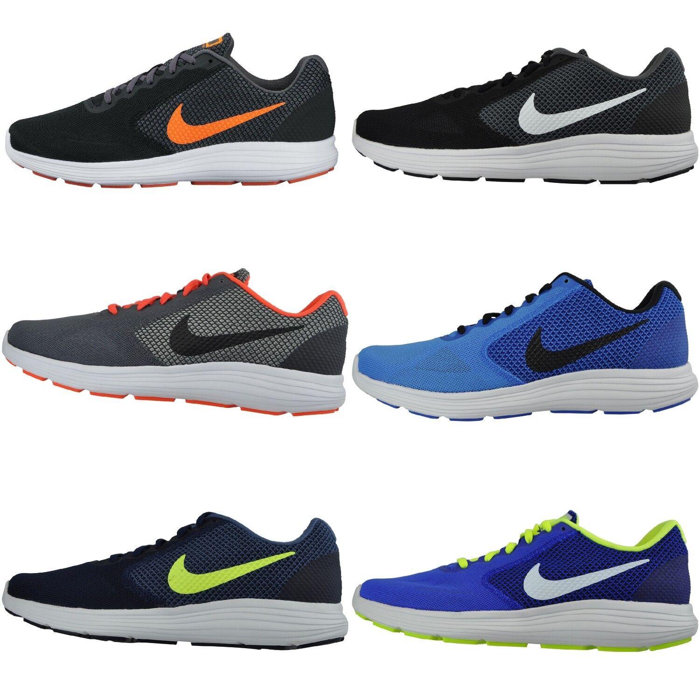 Nike rivoluzione 3 scarpa da corsa, scarpe da ginnastica formatori tessili