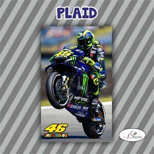 Plaid In Pile Valentino Rossi 46 Motociclista Moto Gp Idolo Idea Regalo Ebay